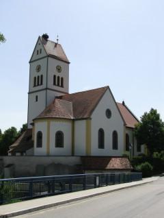 Die katholische Kirche St. Margaretha in Wilburgstetten